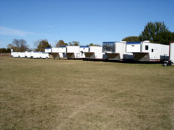 Trailer Delivery at Rezner Trailers